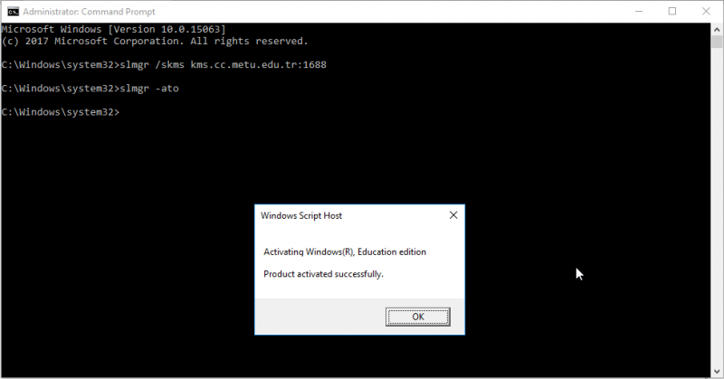 win7 activation cmd