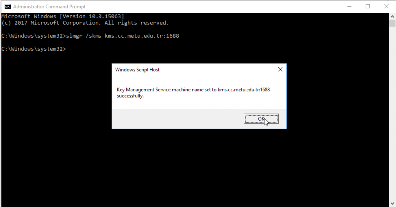 cmd activate administrator windows 10